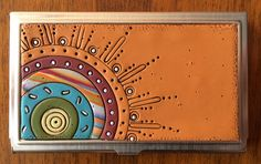 IMG_0726 | polymer decorated business/credit card holder | Bull's Eye Studio | Flickr