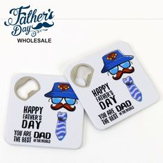 Wholesale fathers day items and school fundraising items, perfect for fathers day stall and good markup. School Fundraisers, Best Dad, Happy Father, Fundraising, Bottle Opener, Fathers Day, Coasters, Prints, Ideas