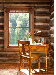 cabin office