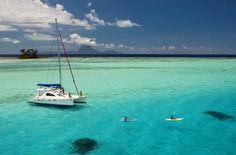 Sailing in Tahiti, French Polynesia!