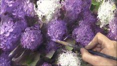 Как написать сирень за 3 часа. Живопись маслом.  Painting lilac in 3 hou...