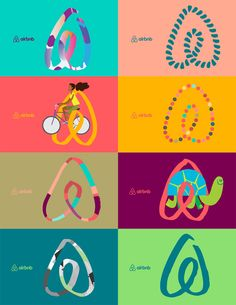 New Logo and Identity for Airbnb by DesignStudio