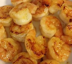 Camarones con Miel y Limon - http://thedoughwillriseagain.wordpress.com/2012/07/31/honey-lime-shrimp/