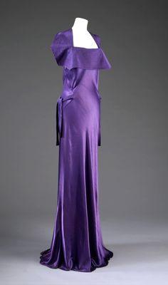 ~Evening dress, Jeanne Lanvin,1935~