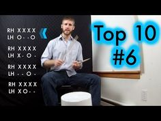 (Exciting News at the End) Top Ten Bucket Drumming Beats: - Hip Hop R. Drums Beats, Music Beats, Drum Lessons, Lessons Learned, Cardio Drumming, Bucket Drumming, Christmas Concert, How To Play Drums, Elementary Music