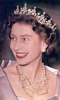 The Dagmar Necklace worn by HM Queen Elizabeth II