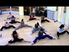 Great Lyrical Jazz Warm Up Routine Choreographed by Paul McLavin, Edinburgh.
