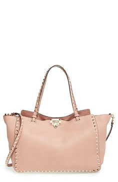 Valentino 'Medium Rockstud' Tote available at #Nordstrom