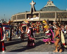This site, the Basilica of Our Lady of Guadalupe, in Mexico City, Mexico is the most visited Catholic shrine in the world. There are more than 30 masses per day there. It is the 4th most frequented pilgrimage destination in the world.