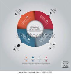 Minimal Infographics Design. Vector - 128741225 : Shutterstock