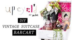 """Acquire terrific recommendations on """"bar cart diy"""". They are actually accessible for you on our internet site. Diy Bar Cart, Gold Bar Cart, Bar Cart Styling, Bar Cart Decor, Mr Kate Youtube, Old Suitcases, Clever Diy, Design, Home Decor"""