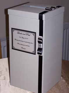 Tall Wedding Post Box