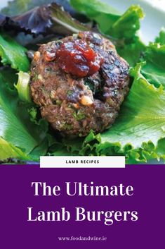 Try this quick and easy spicy lamb burger recipe from Hugo Arnold. Lamb Burger Recipes, Lamb Recipes, Lamb Burgers, Coriander Seeds, Spicy, Beef, Cooking, Food, Meat