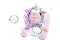 Unicorns, Crochet Baby Toys, Mini, Christmas Ornaments, Holiday Decor, Stuffed Unicorn, Home Decor, Key Fobs, Handmade Gifts