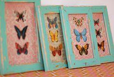 vintage handmade frames: by Jasna Janekovic