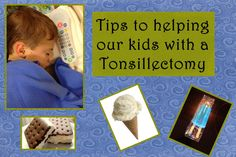 Queen Of Chaos: Tips For a Tonsillectomy For Your Kids- Day 1