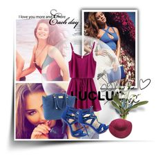 """""""LUCLUC #15"""" by anni000 ❤ liked on Polyvore"""
