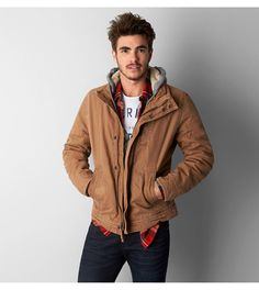 Tobacco AEO Vintage Workwear Jacket