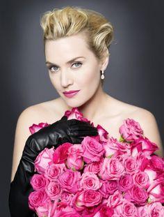 Kate Winslet Lancome Roses