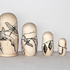 METAMORFOSIS VII nesting dolls