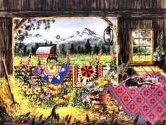 Hole in the Barn Door by Diane Phalen