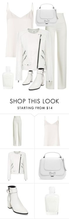 """classic clean white"" by im-karla-with-a-k ❤ liked on Polyvore featuring Brandon Maxwell, L'Agence, Étoile Isabel Marant and Steve Madden"