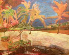 Virgin Island is a painting of a tropical by RichardsonOriginal, $275.00