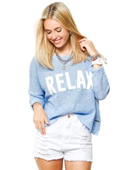 Sweater Celeste 47 Street Lupine 47 Street