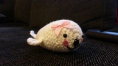 crochetted seal