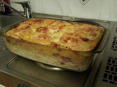 Spagettinakkipekonivuoka Kotikokki.netin nimimerkki Gargoylen ohjein Pasta Dishes, Quiche, Cauliflower, Macaroni And Cheese, Food And Drink, Cooking Recipes, Baking, Dinner, Vegetables