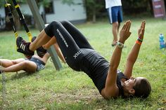 Body perceives movements, not muscles - http://www.coretrainingtips.com/what-is-trx/