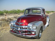 Chevy 3100 Pick-Up Truck✿Wrong year ! 54 Chevy Truck, Chevy 3100, Chevy Pickup Trucks, 1955 Chevy, Gm Trucks, Chevy Pickups, Chevrolet Trucks, Cool Trucks, Vintage Pickup Trucks