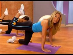 Denise Austin: Abs & Buns Pilates Workout ....about 15 min.