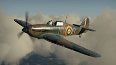 Hurricane of No 79 Squadron,1940.