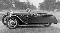 """Model """"F-4""""(1937)  Built from 1933-52.  The """"F-4"""" was built on a totally new chassis with a 4-cylinder inline 8hp Ford model """"Y"""" engine. It was restyled in 1935 and 1938."""