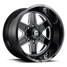 Fuel Forged wheels are machined from 6061 T-6 forged aluminum mono blocks. Each order is custom made to your Truck or SUV's specifications. Fuel Forged wheels are available polished, black & milled, or custom painted. All Fuel Forged wheels are available with or without machined lip dimples. <br> The number of spokes are subject to change based on bolt pattern (see FF12 and FF12.5). Ride height and suspension modifications may limit diameter, width, and lip size options.