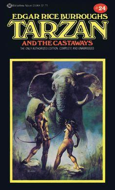 Boris Vallejo Tarzan and the Castaways