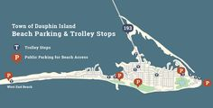 Beach Access and Parking | Visitors | Dauphin Island, Alabama