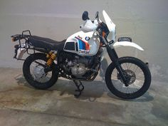 '85 BMW R80G/S by danielfletch, via Flickr