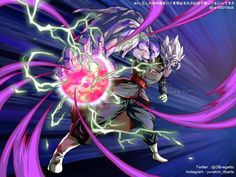 merged fusion zamasu by Goku Vs Trunks, Dragon Ball Z, Merged Zamasu, Zamasu Black, King Kong, Awesome Anime, Anime Comics, Jojo's Bizarre Adventure, Cool Art