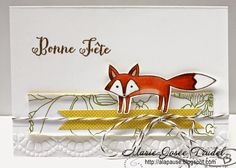 A La Pause: Life In The Forest et Sketches de Stampin' Up! Marie-Josée Trudel SU