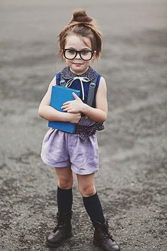 Back to School Fashion - 5 going on 25