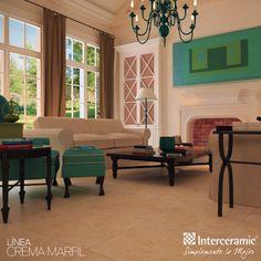 Una de las características del estilo #francés es que sus paredes son muy elegantes, ya sea por lo rico del #papel tapiz o por las combinaciones de #colores, los cuales son claros; y los muebles son clásicos estilizados. Para dar más calidez y #modernidad, agrega un toque de color y punto focal en los #rincones.