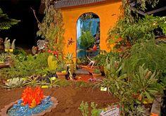 Isn't this fun? From the Northwest Flower & Garden Show -- Beast in the Garden.