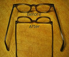 This instructable is for an almost free fix to an extremely annoying problem of loose glasses.No, its not a rubber band around the back of your head. ::-)I like to wear vintage eyeglasses and often they will be stretched out and end up further down my nose than I'd like, often when my hands are too busy to push them back up.A lot of the newer frames have great spring loaded hinges that will alleviate the problem. What can I say, I love the classics, and the challenge of restoring a great…