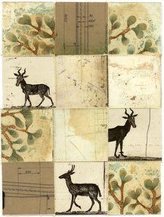Piia Lehti: Collection No 56, stitched graphic, 2104