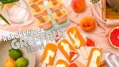 Kakukkfüves grépfrút fagyi recept ◾ KÜLÖNLEGES JÉGKRÉM HÁZILAG Coolers, Cantaloupe, Pineapple, Cocktails, Ice Cream, Fruit, Summer, Food, Craft Cocktails