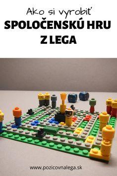 Lego hry: Ako si vyrobiť spoločenskú hru z Lega Lego, Music Instruments, Legos, Musical Instruments