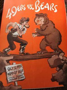#Chicago #Bears Game Program V. 49'ers 10/9/1955 from $37.0