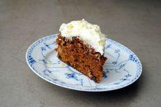 Secret recipe for carrot cake with creme cheese frosting Creme Cheese Frosting, Cake With Cream Cheese, Danish Cuisine, Danish Food, Cake Cookies, Cupcake Cakes, Danish Cake, Carrot Cake, Cakes And More